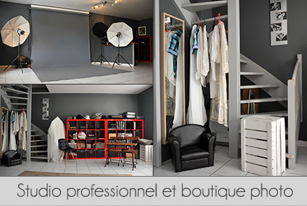 Studio et boutique photo Lyon